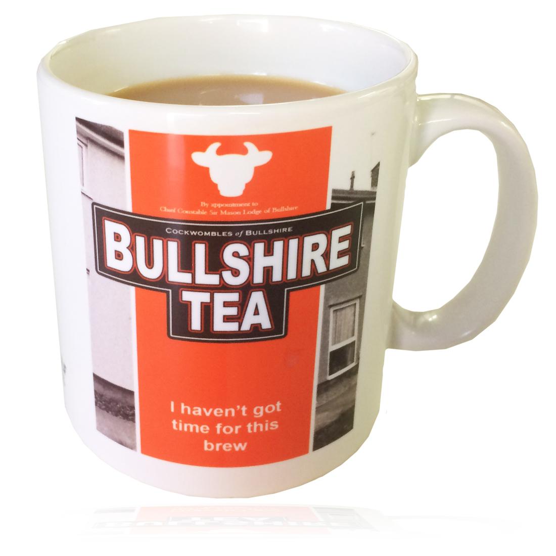 Personalised 'Bullshire Tea' Drinking Vessel (Mug) BullshireTeaMug