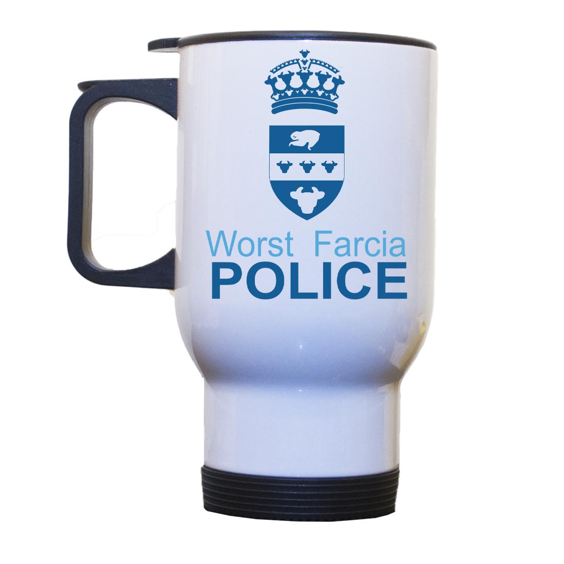 Personalised 'Worst Farcia' Drinking Vessel (Travel Mug) WorstFarciaTRAVELMug