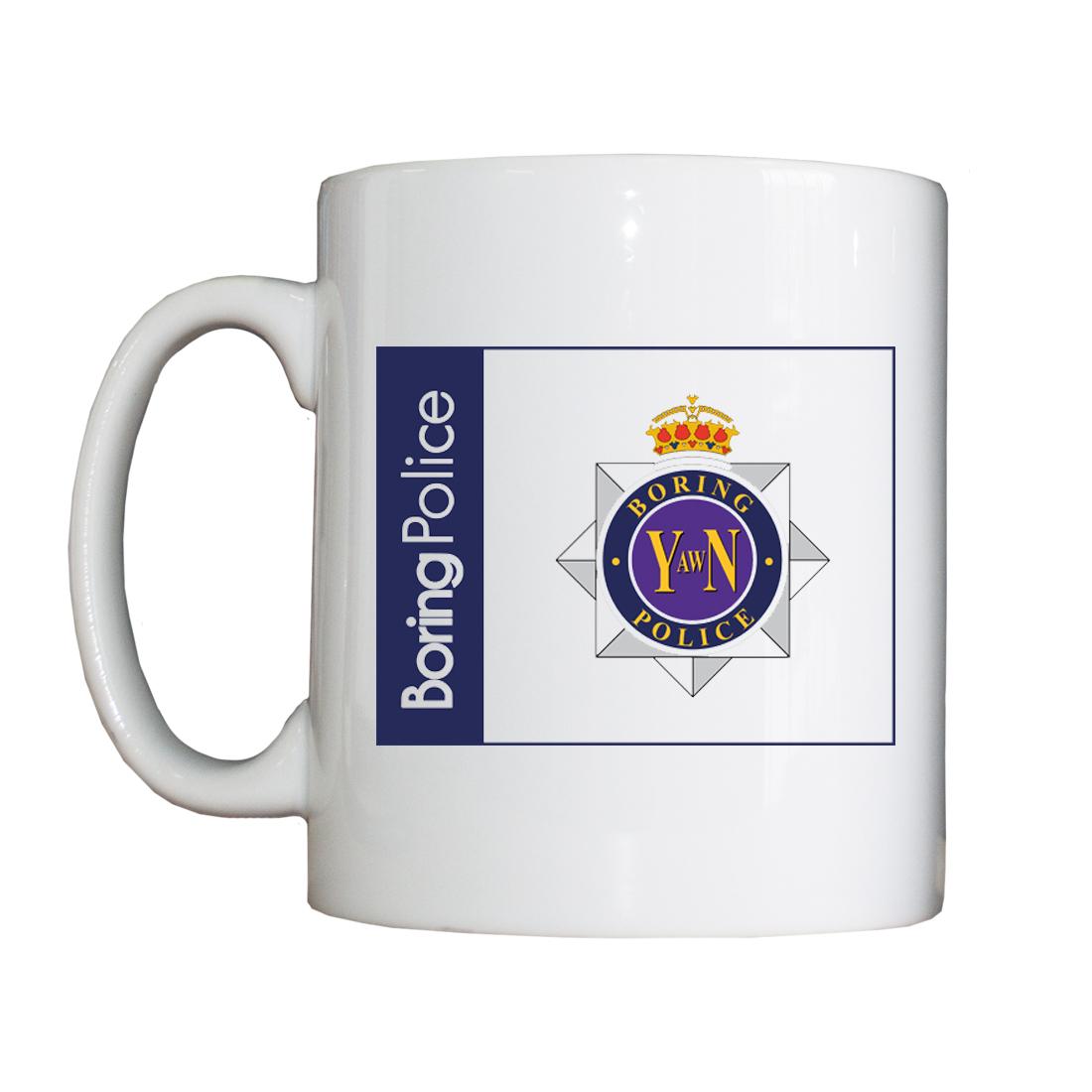 Personalised 'Boring' Drinking Vessel (Mug) BoringMug