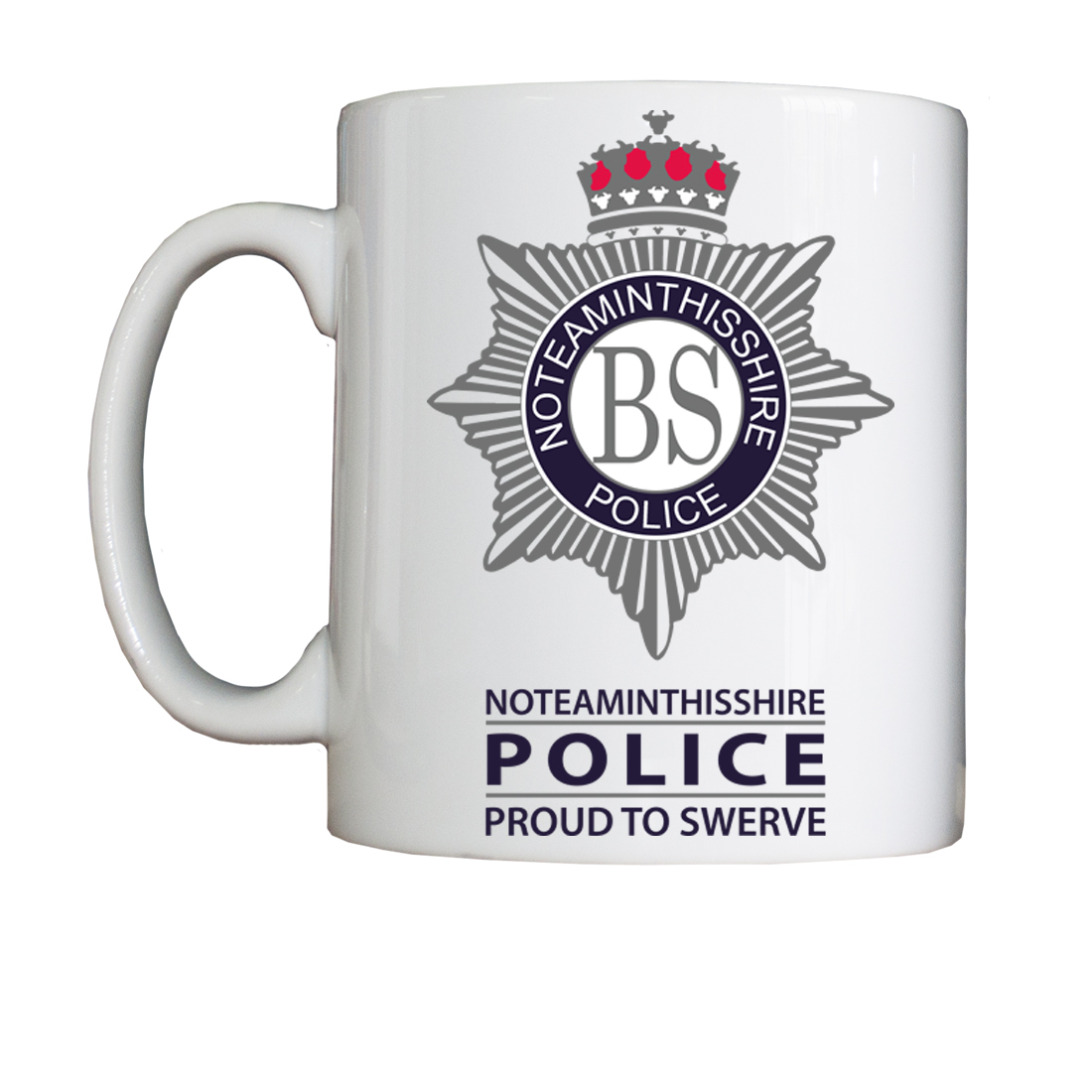 Personalised 'No Team in this Shire' Drinking Vessel (Mug) NoTeamMug
