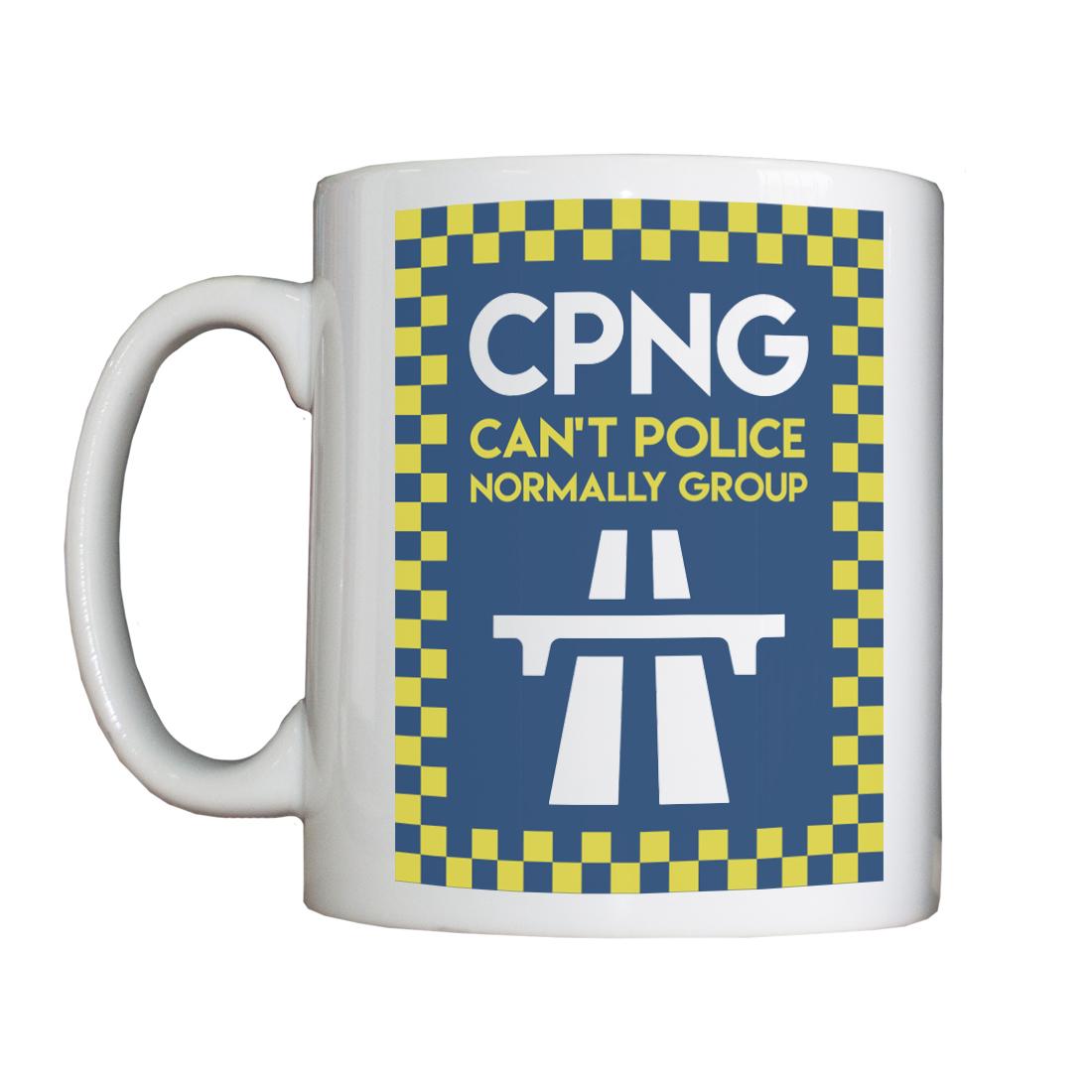Personalised 'CPNG' Drinking Vessel (Mug) CPNGMug