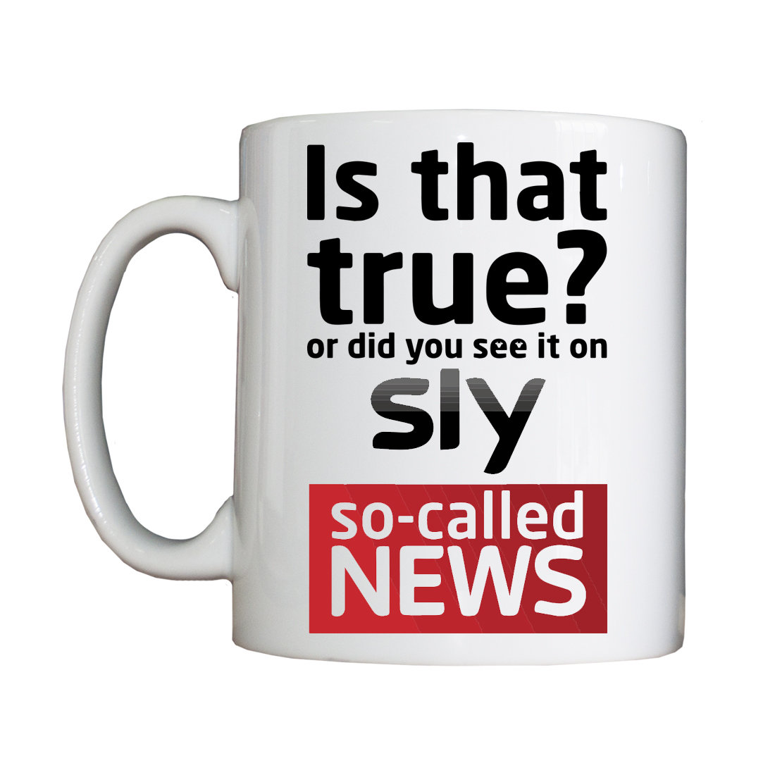 Sly News Mug SlyNewsMug