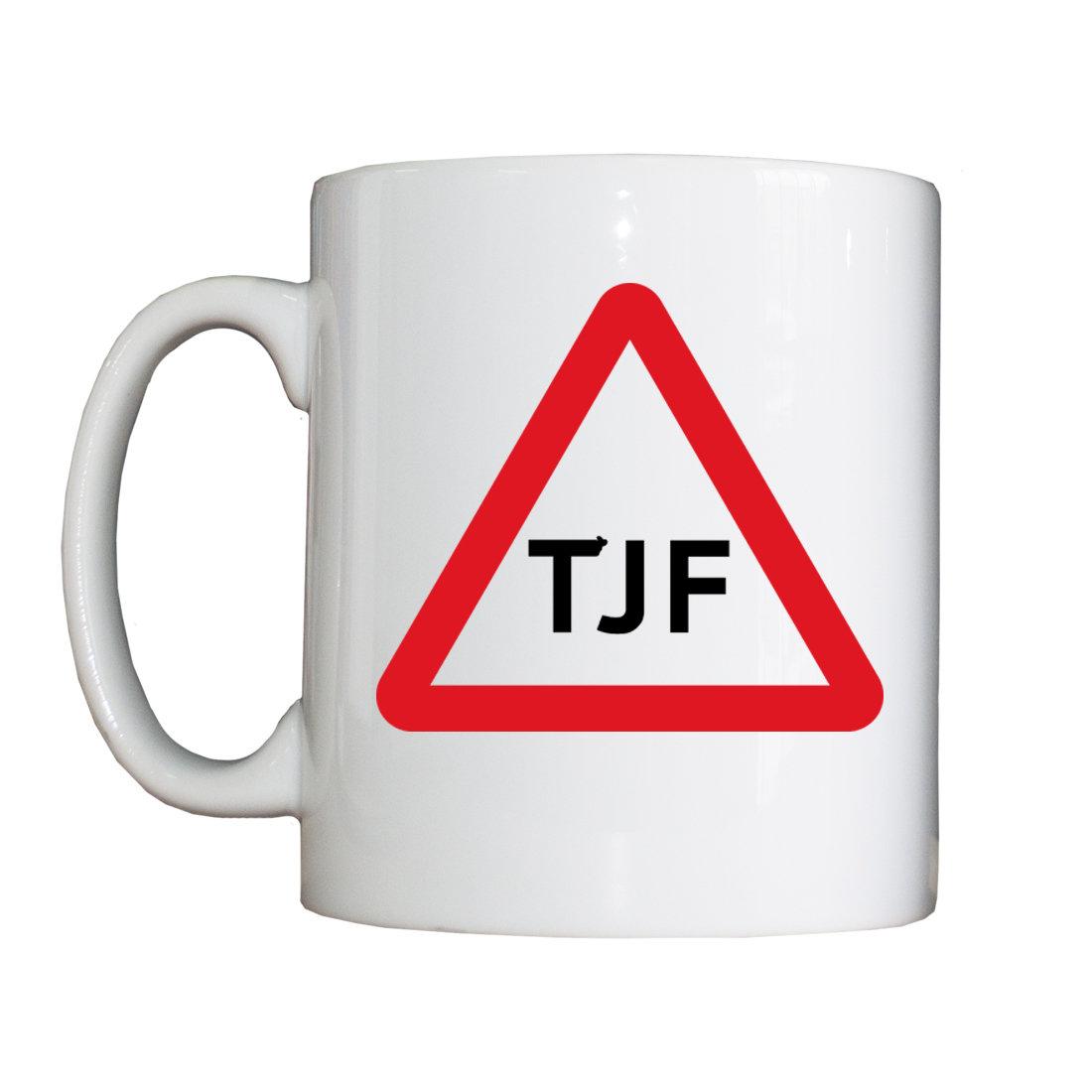 Personalised 'TJF' Drinking Vessel (Mug) NewTJFMug