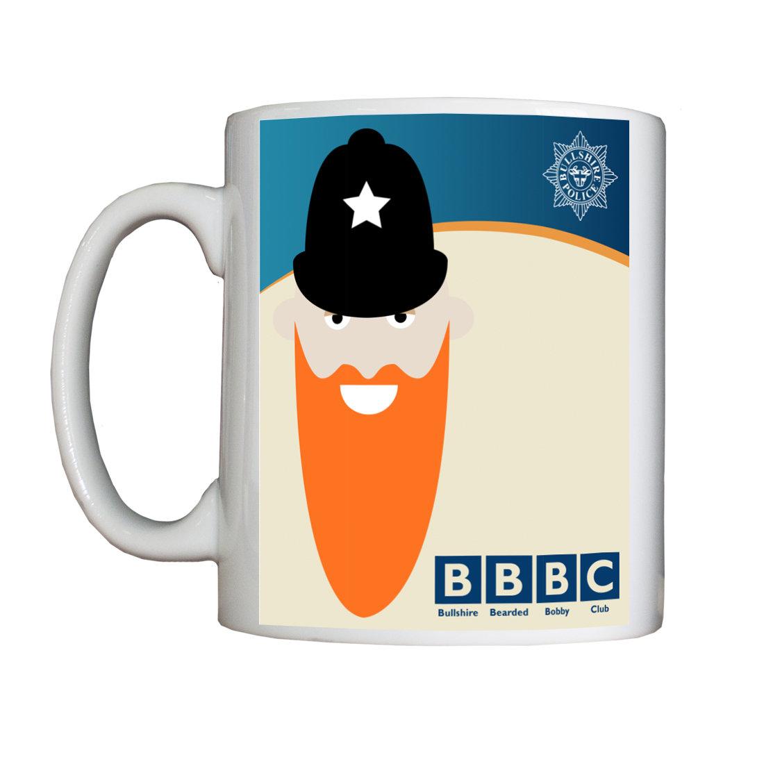 Personalised 'Bullshire Bearded Bobby Club' Mug BBBCMUG