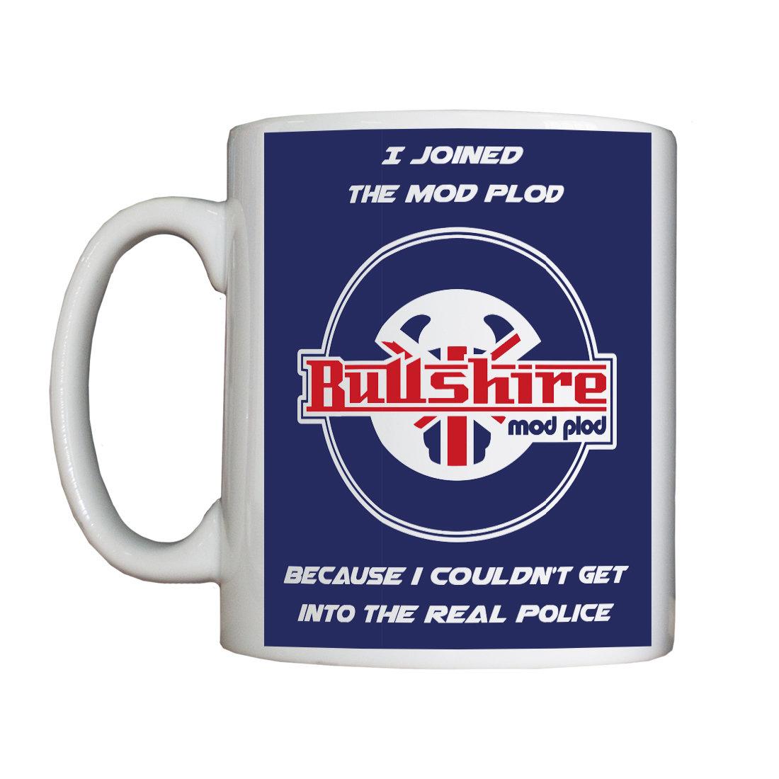 Personalised 'I Joined the Mo d Plod' Drinking Vessel (Mug) NewModefPlodMug