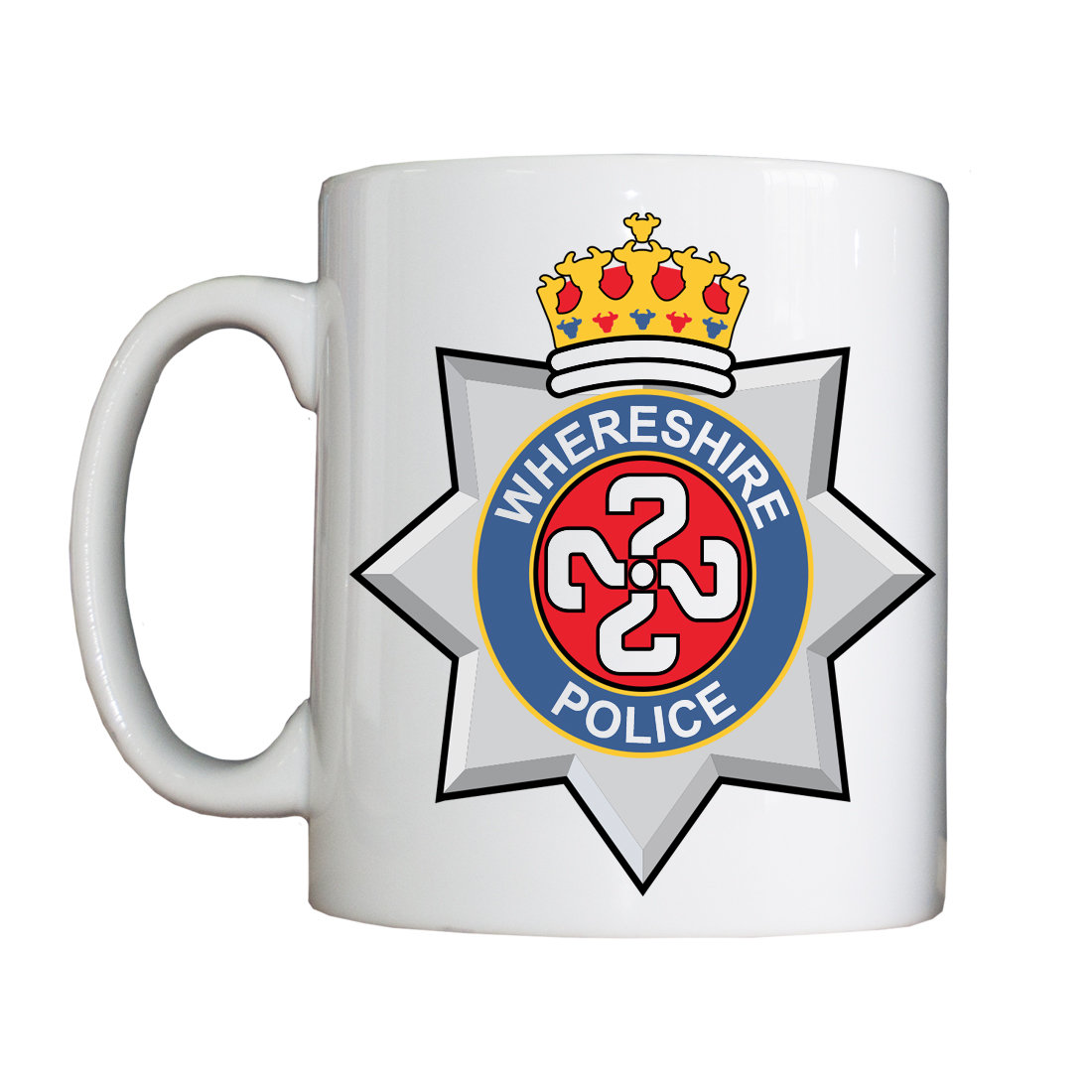 Personalised 'Whereshire' Mug WhereshireMug