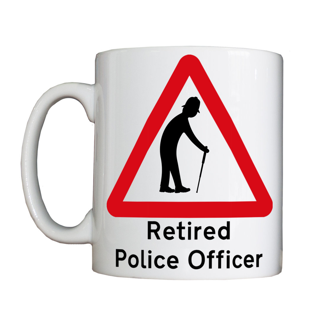 New Personalised 'Retired Police Officer' Mug NewRetiredMug