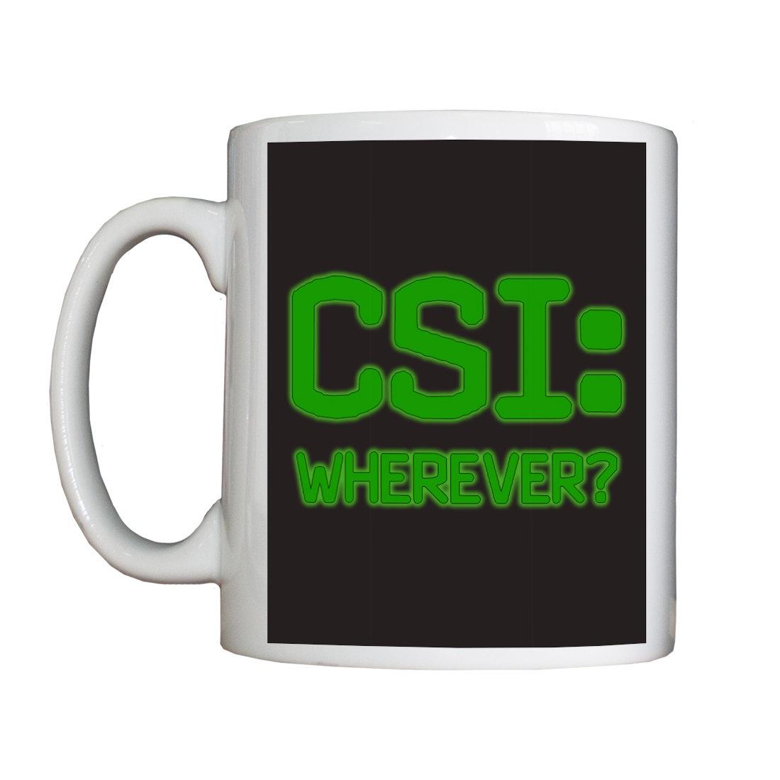 Personalised 'CSI:' Mug NewCSIMug
