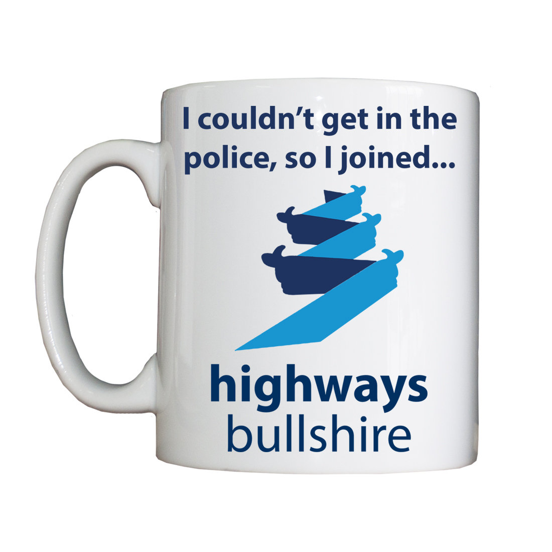 Personalised 'Highways Bullshire' Mug HBENewHighwaysBullshireMug