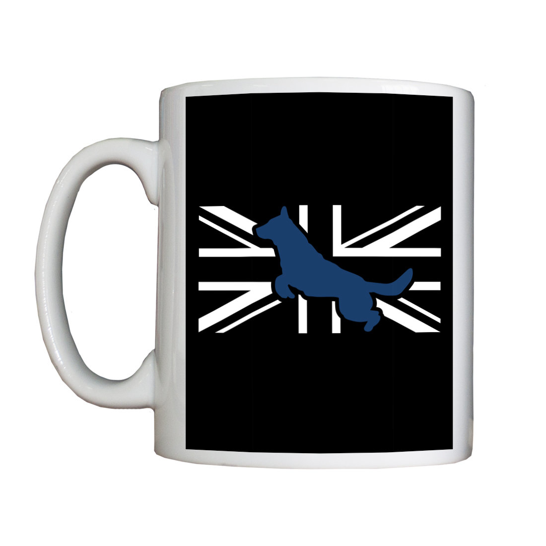 Personalised 'Flag LandShark' Drinking Vessel FlagLandSharkMUG