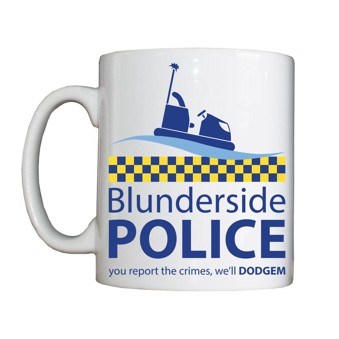 New Personalised 'Blunderside' Mug NEWBlundersideMugForce