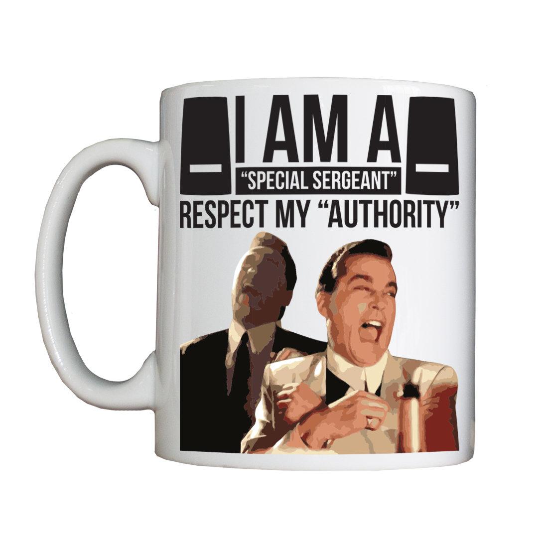 Personalised 'I am a Special Sergeant' Drinking Vessel (Mug) SpecialSergeantMUGWeekend