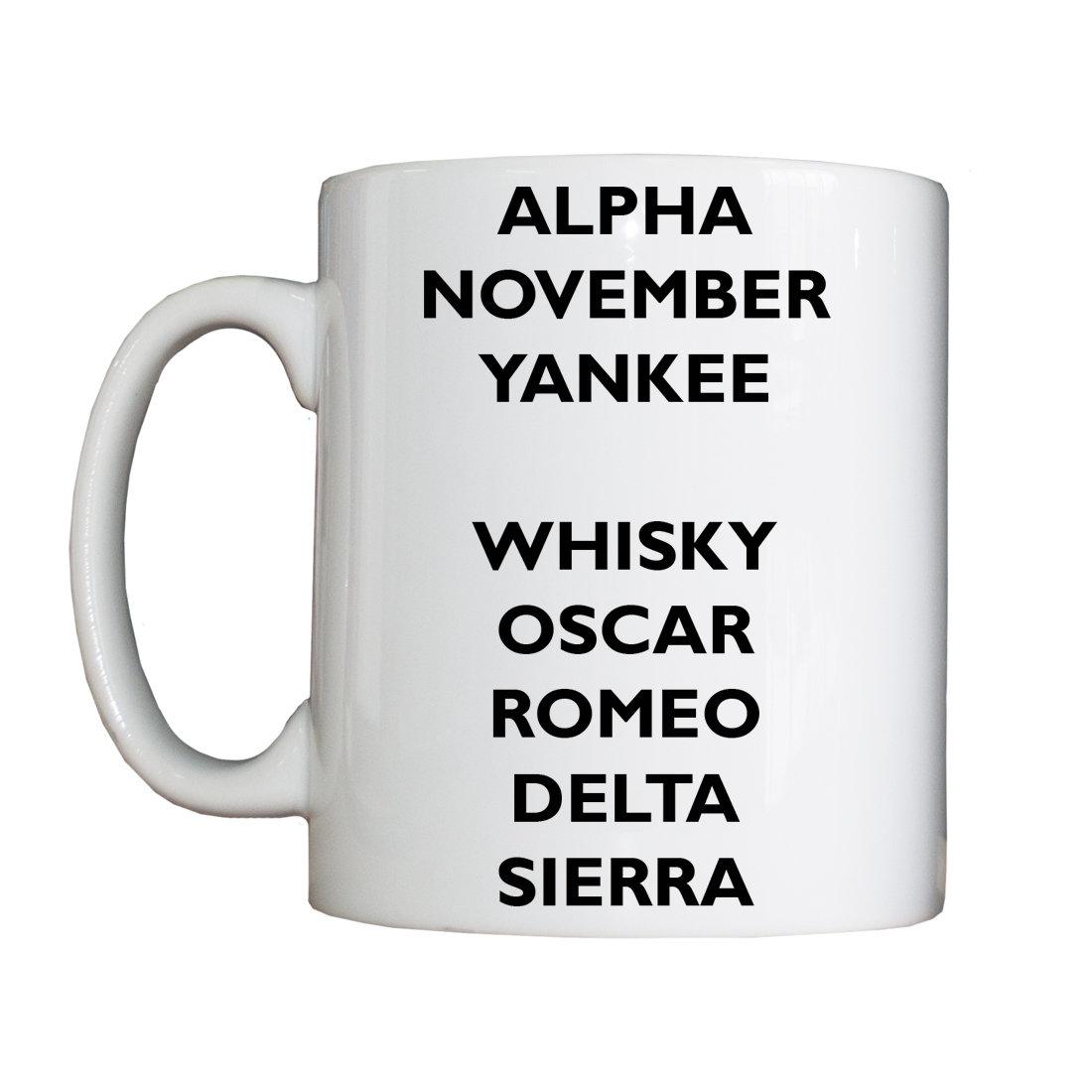 Personalised 'Phonetic' Drinking Vessel (Mug) PhoneticMUG