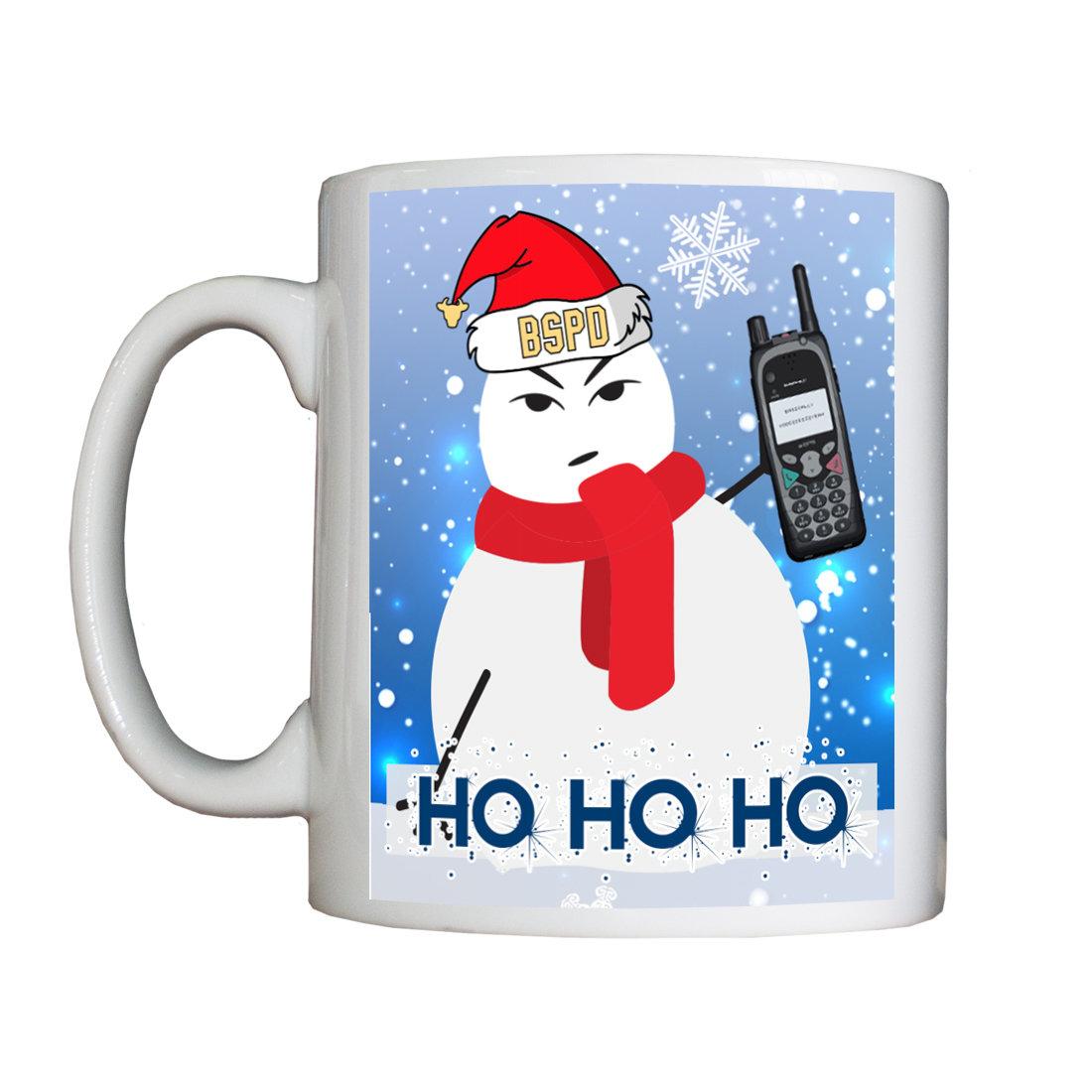 Personalised 'Bullshire Secret Santa' Mug SecretSantaMug