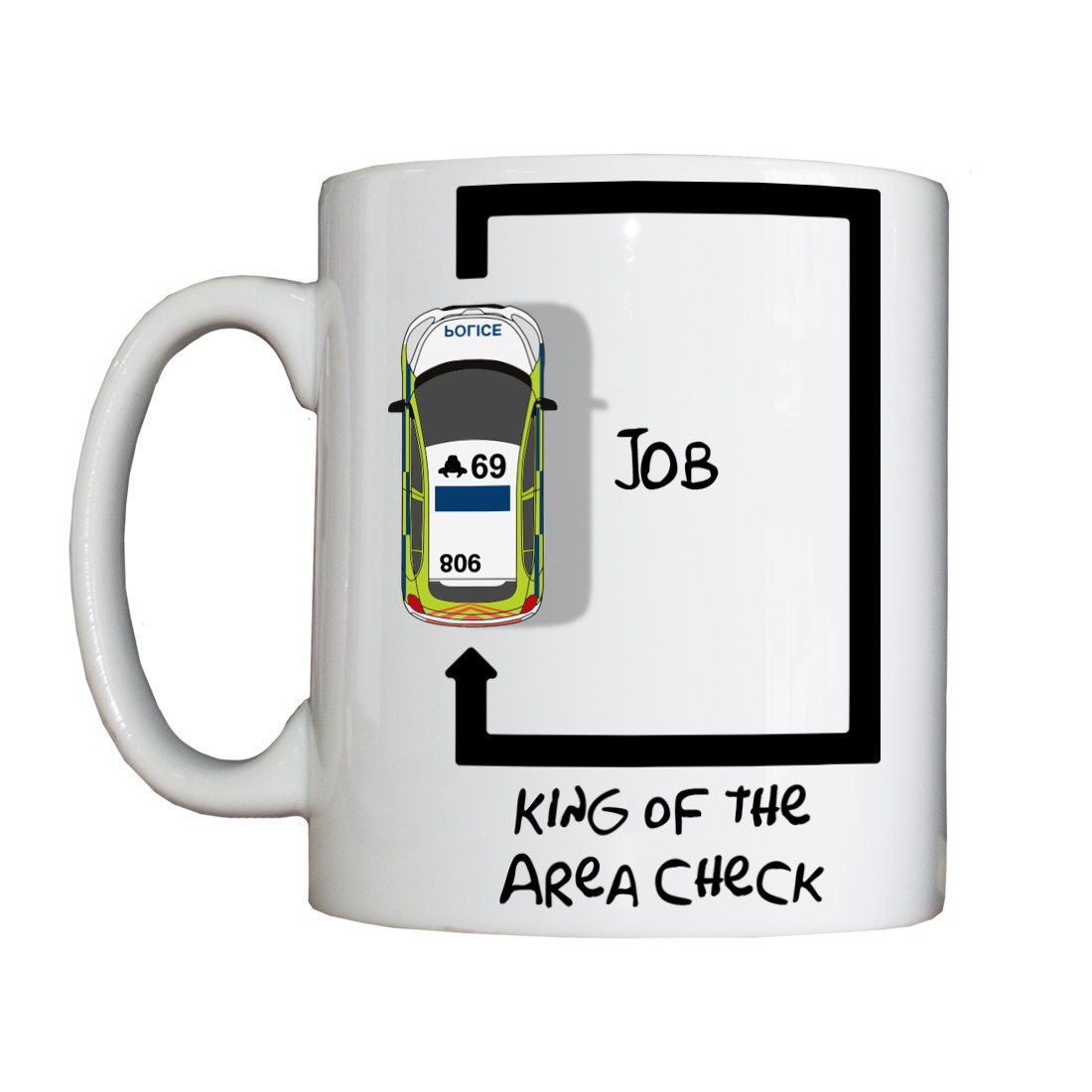 Personalised 'Area Check' Drinking Vessel AreaCheckVessel