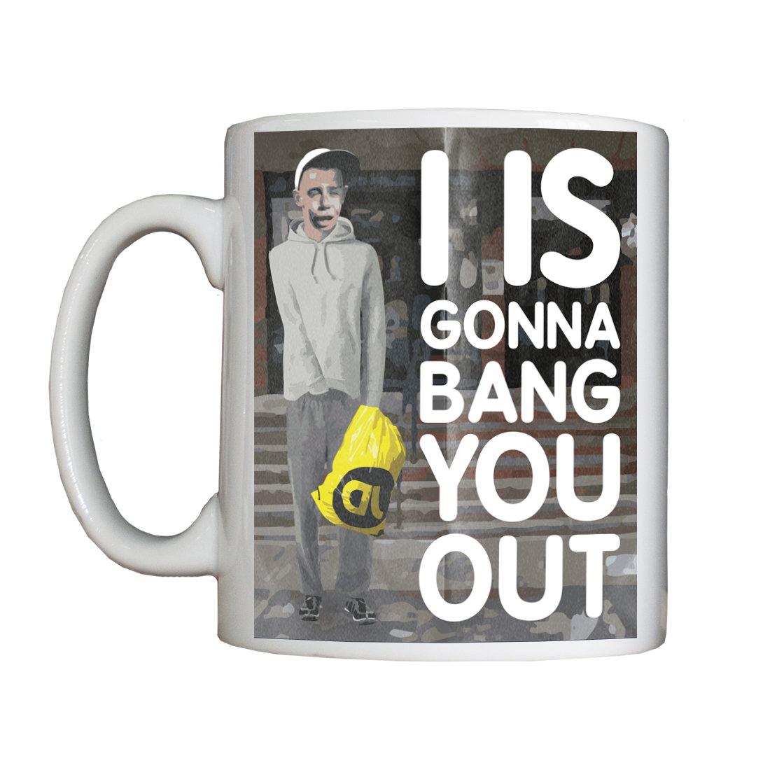 """Personalised """"Banged Out"""" Drinking Vessel (Mug) BangedOutMug"""
