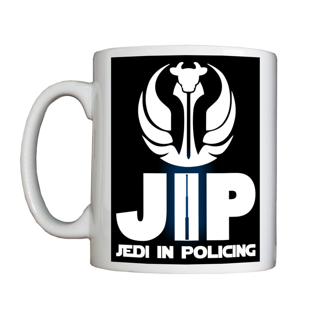 "Personalised ""Jedi in Policing"" Drinking Vessel JEDIInPolicingVessel"