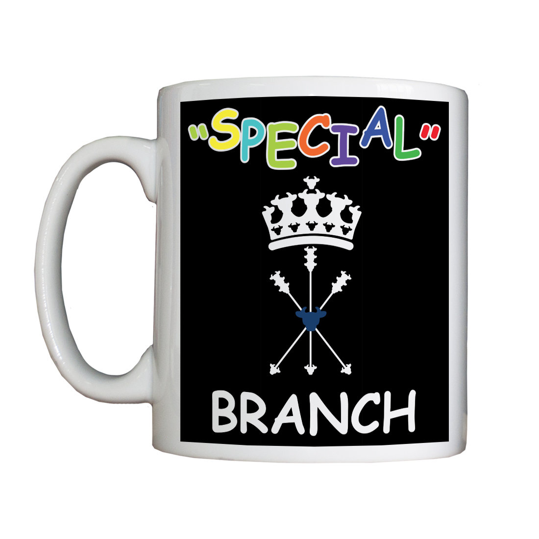 """Personalised """"'Special' Branch"""" Drinking Vessel SpecialBranchVessel"""