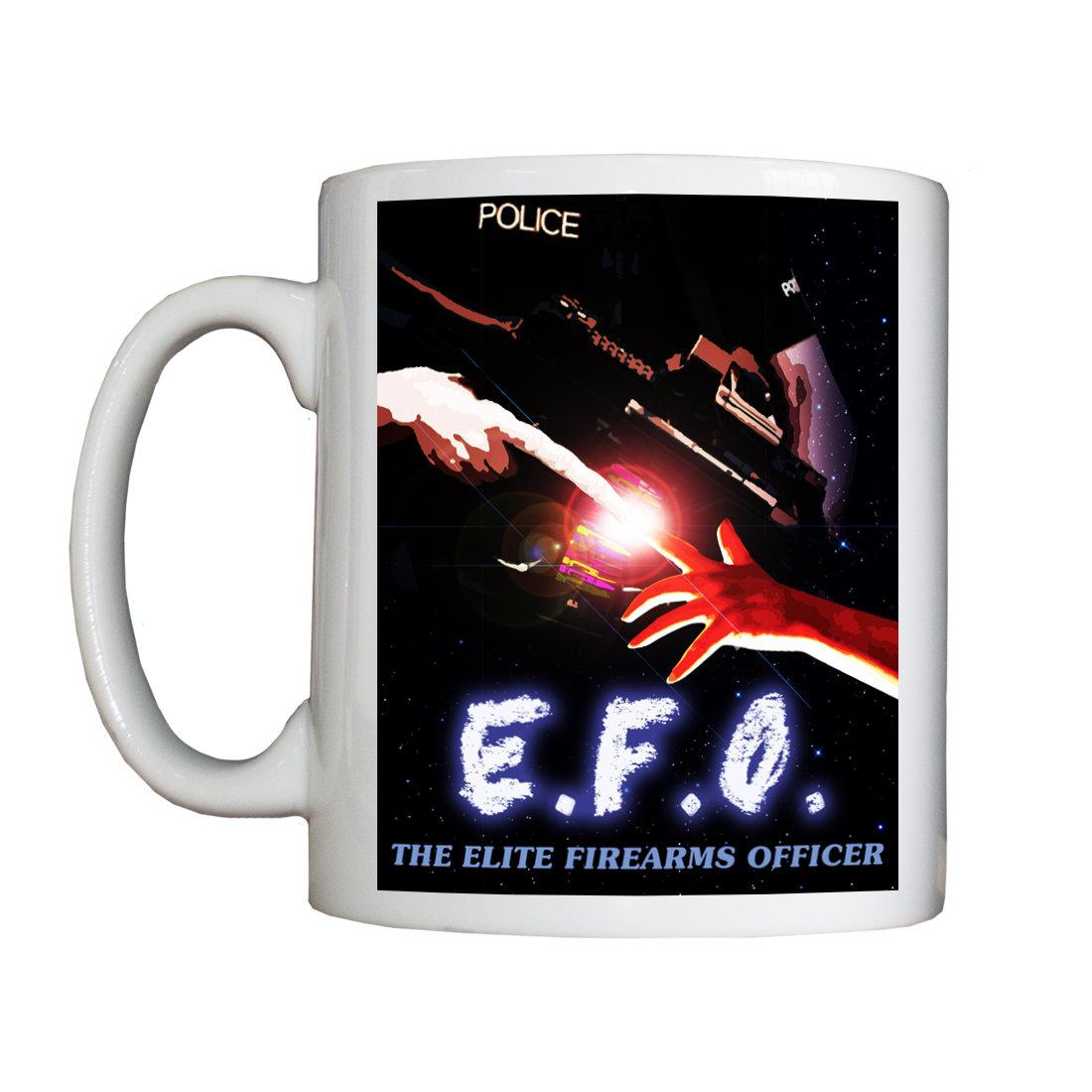 Personalised 'EFO:  The Elite Firearms Officer' Drinking Vessel EFOVessel