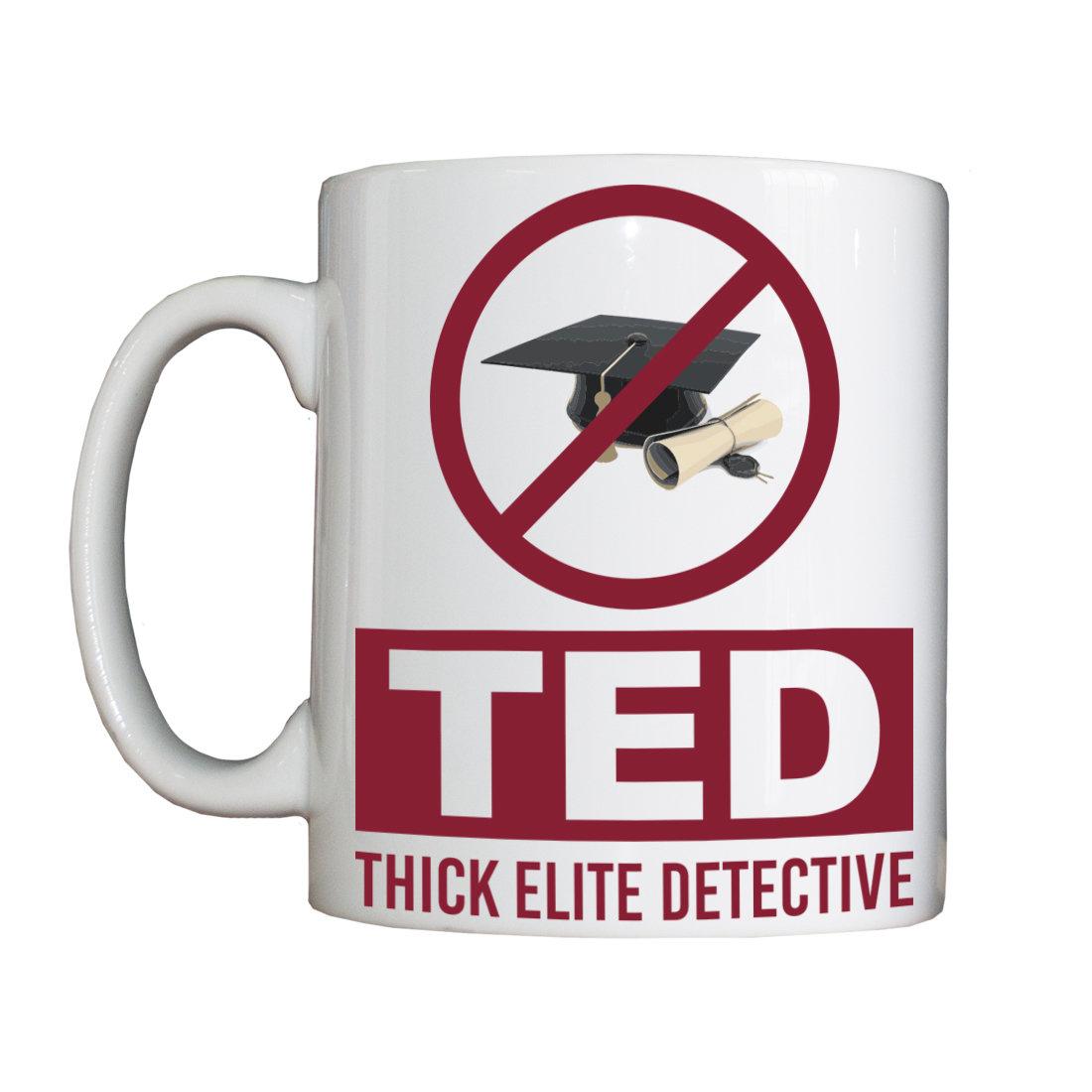 Personalised 'Thick Elite Detective' Vessel ThickEliteDetectiveVessel
