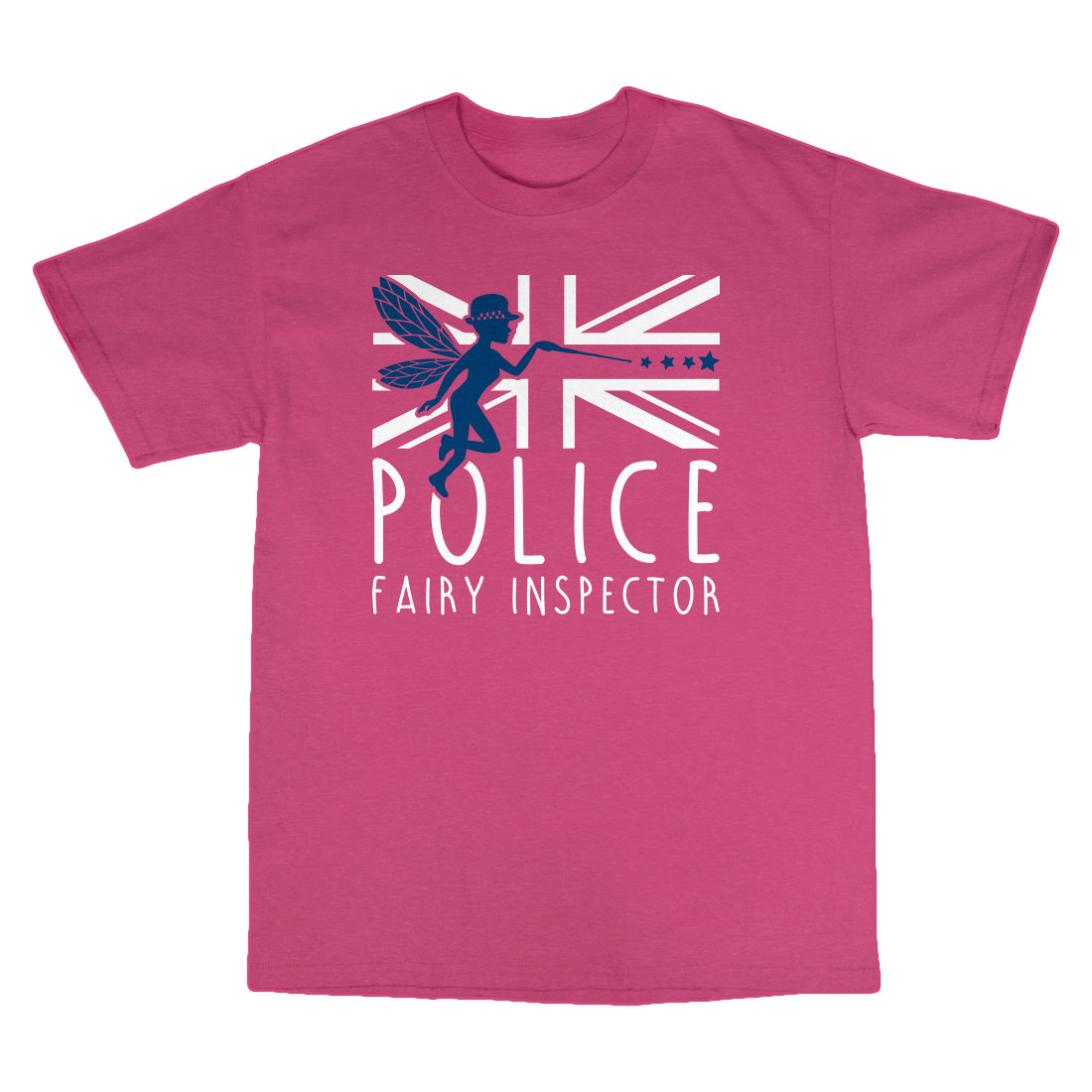Children's 'Fairy Inspector' T-Shirt FairyInspectorT