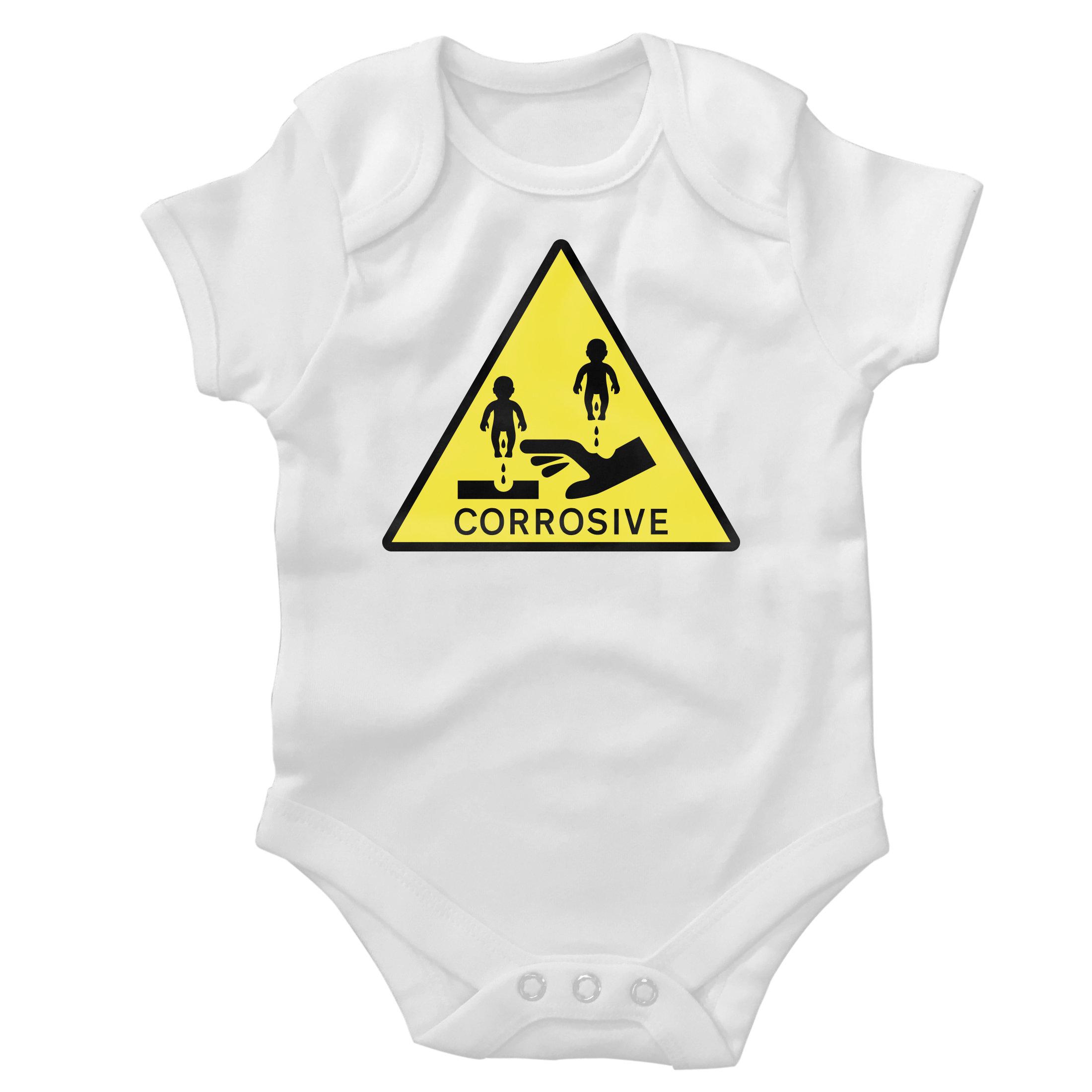 'Corrosive' Baby Grow CorrosiveBG