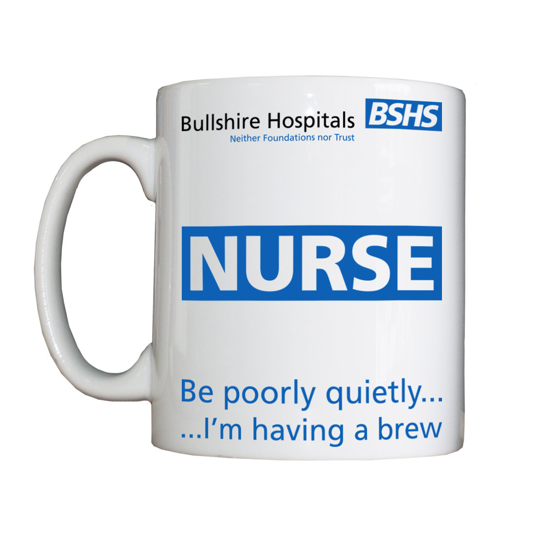 Personalised 'Nurse' Drinking Vessel NurseVessel
