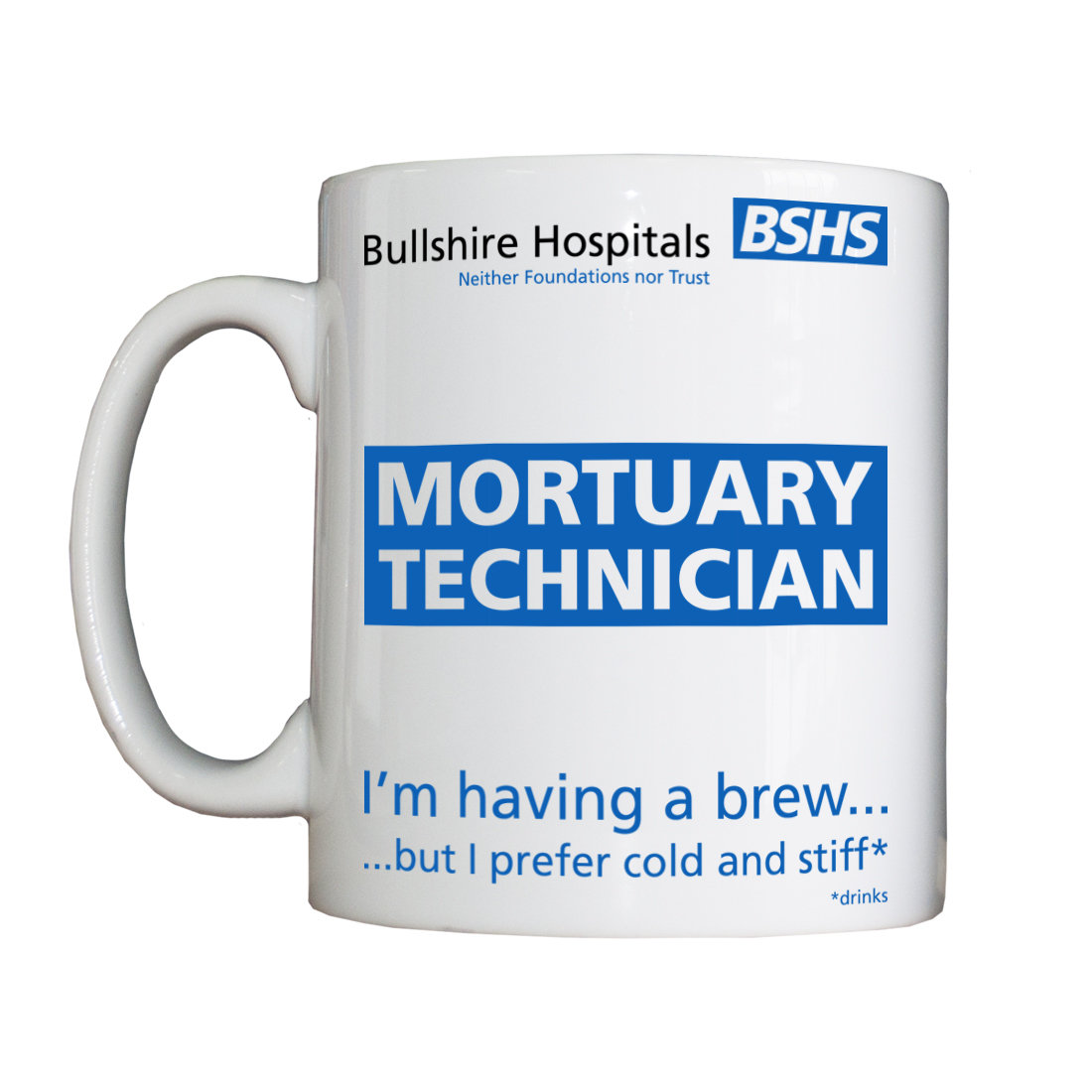 Personalised 'Mortuary Staff' Drinking Vessel MortuaryStaffVessel