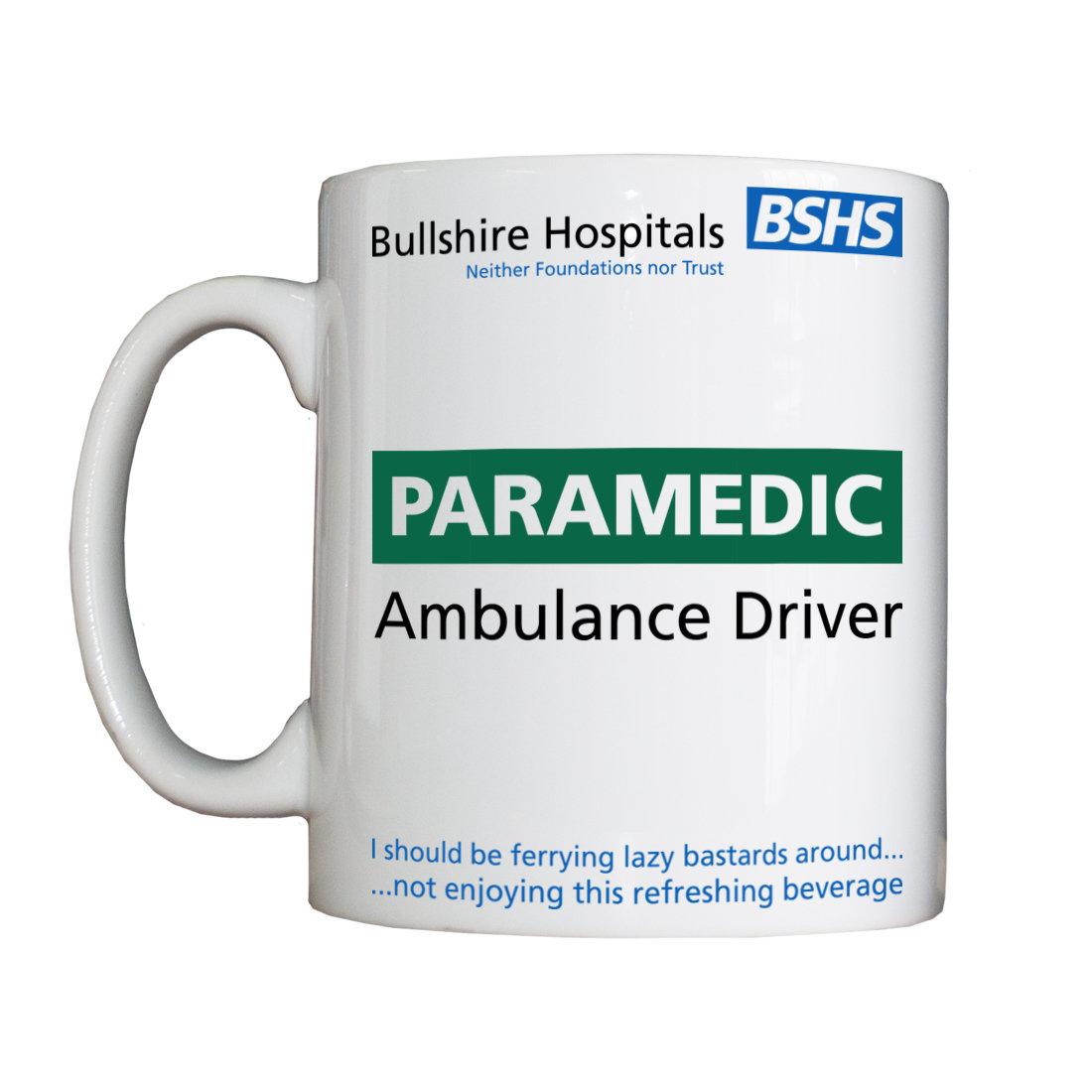 Personalised 'BSHS Paramedic' Drinking Vessel BSHSParamedicVesselAmbulance