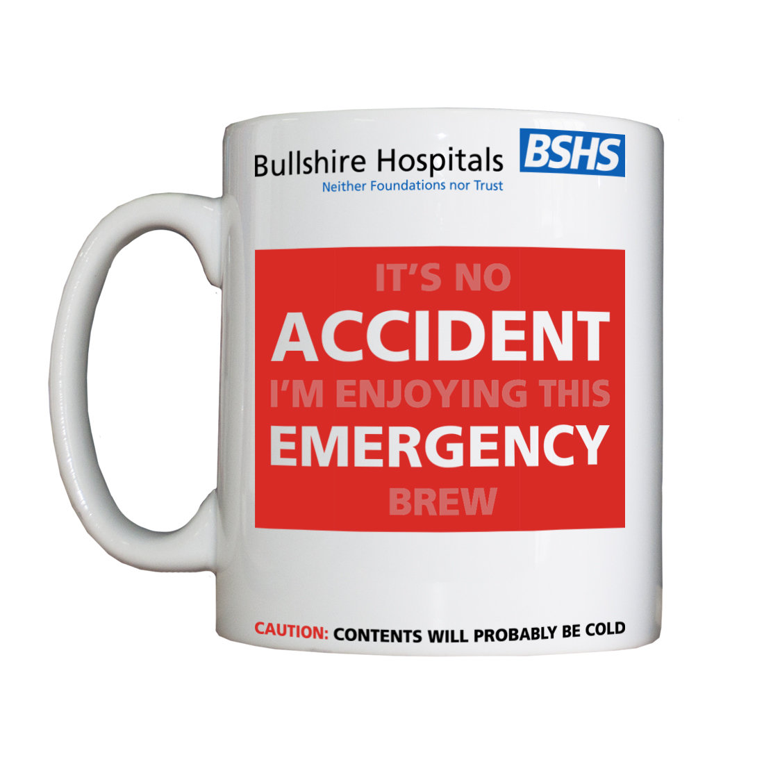 Personalised 'AED' Drinking Vessel BSHSAEDVessel