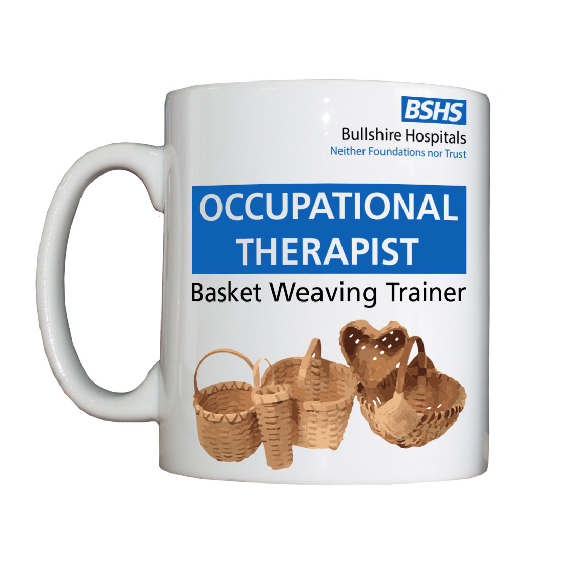Personalised 'Occupational Therapist' Drinking Vessel BSHSOccTherapVessel