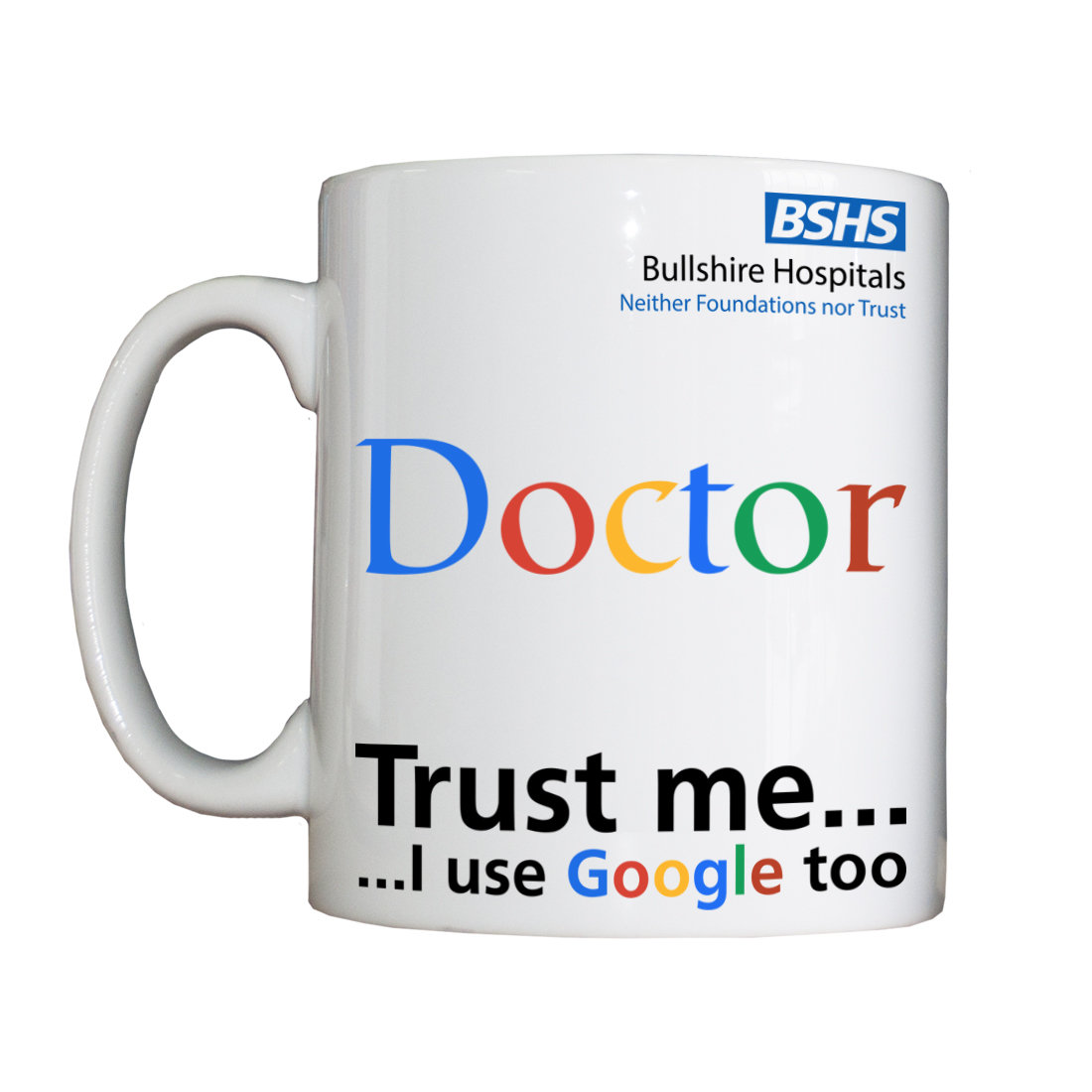 Personalised 'Doctor' Drinking Vessel DoctorVessel