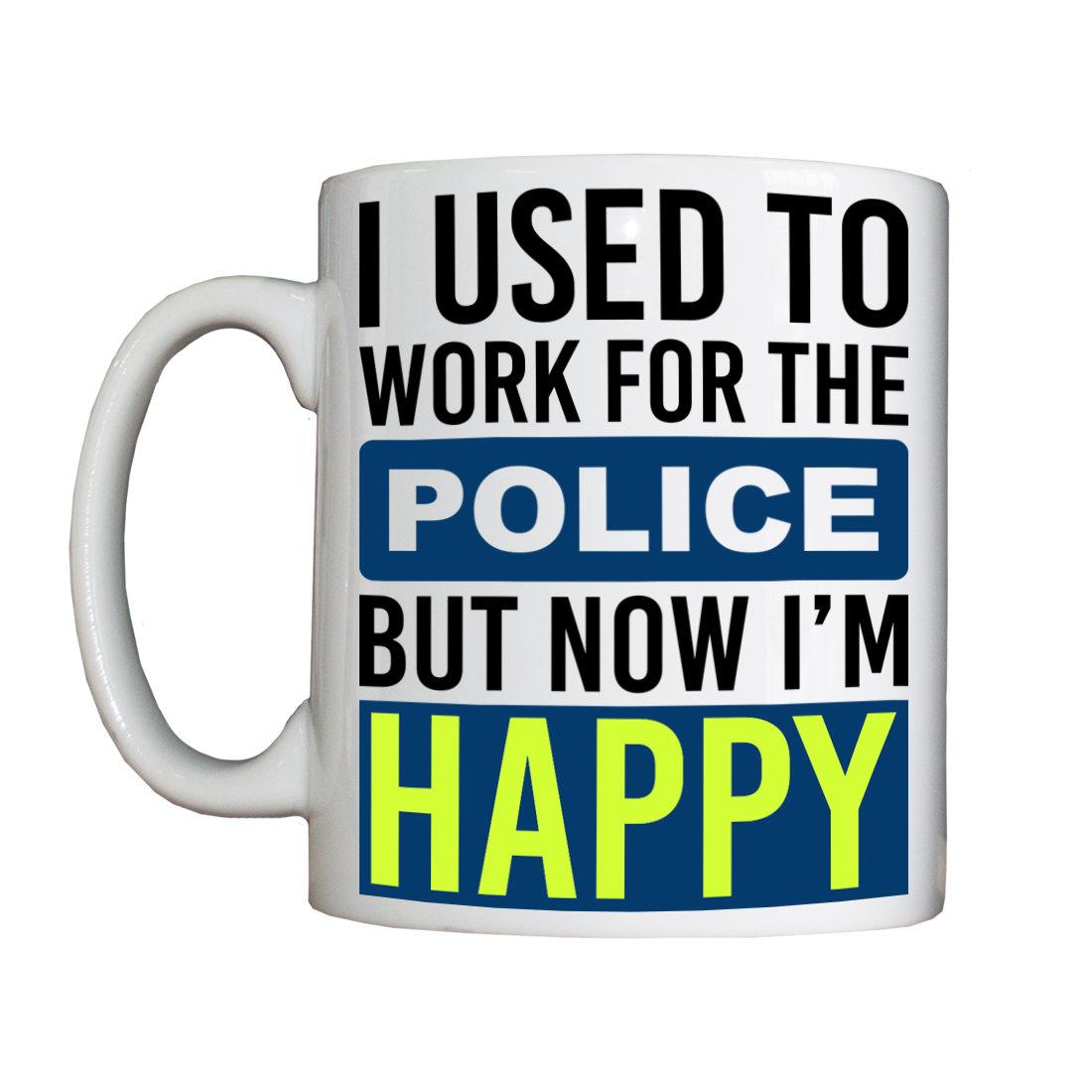Personalised 'Ex-Police Staff' Drinking Vessel ExPoliceStaffVessel