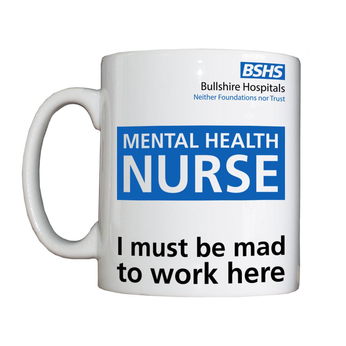 Personalised 'Mental Health Nurse' Drinking Vessel