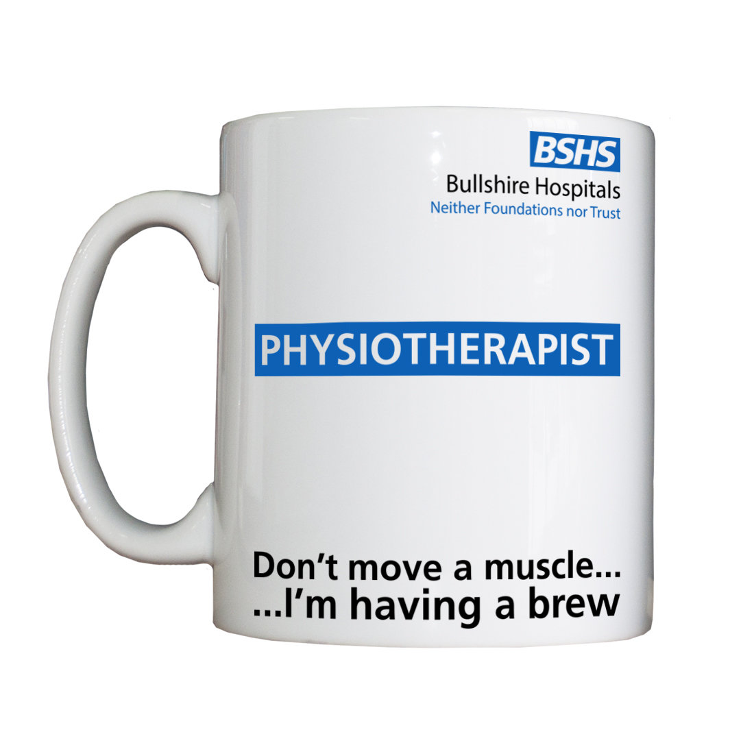 Personalised 'Physiotherapist' Drinking Vessel BSHSPhysioVessel