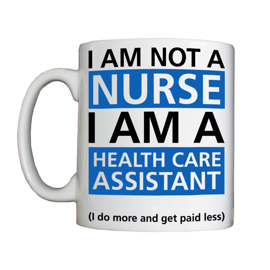 Personalised 'Health Care Assistant' Drinking Vessel BSHSHCAVessel