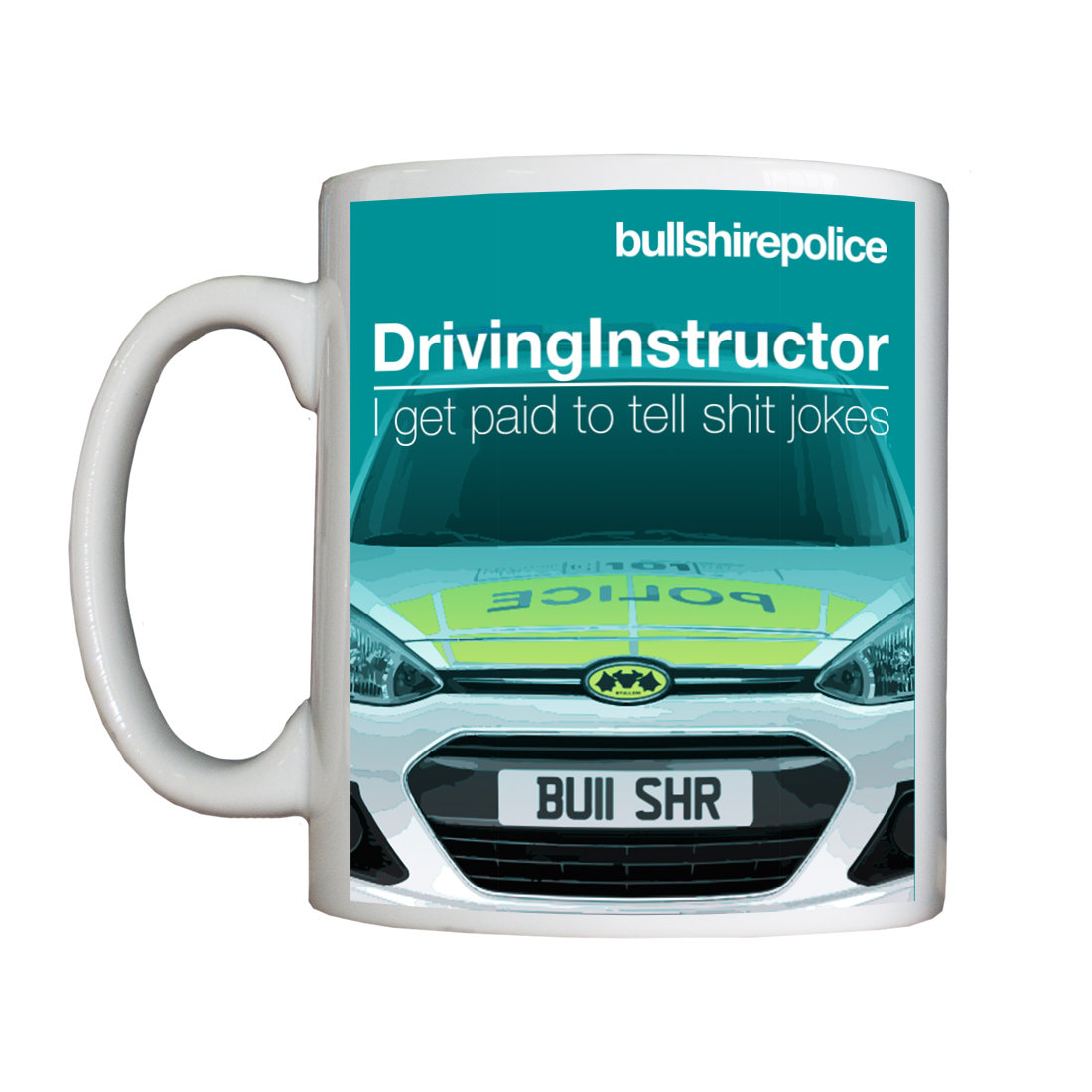 Personalised 'Driving Instructor' Drinking Vessel DrivingInstructorVessel