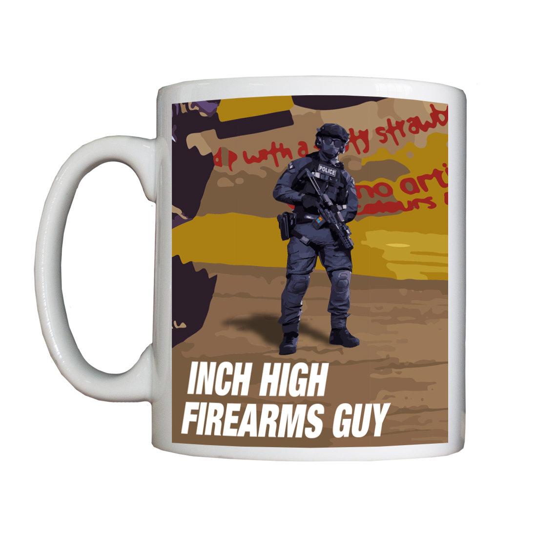Personalised 'Inch High Firearms Guy' Drinking Vessel InchHighFirearmsGuyVessel