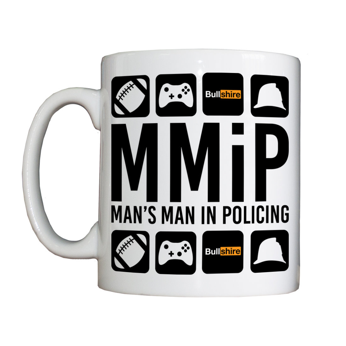 Personalised 'Man's Man in Policing' Drinking Vessel MMiPVessel