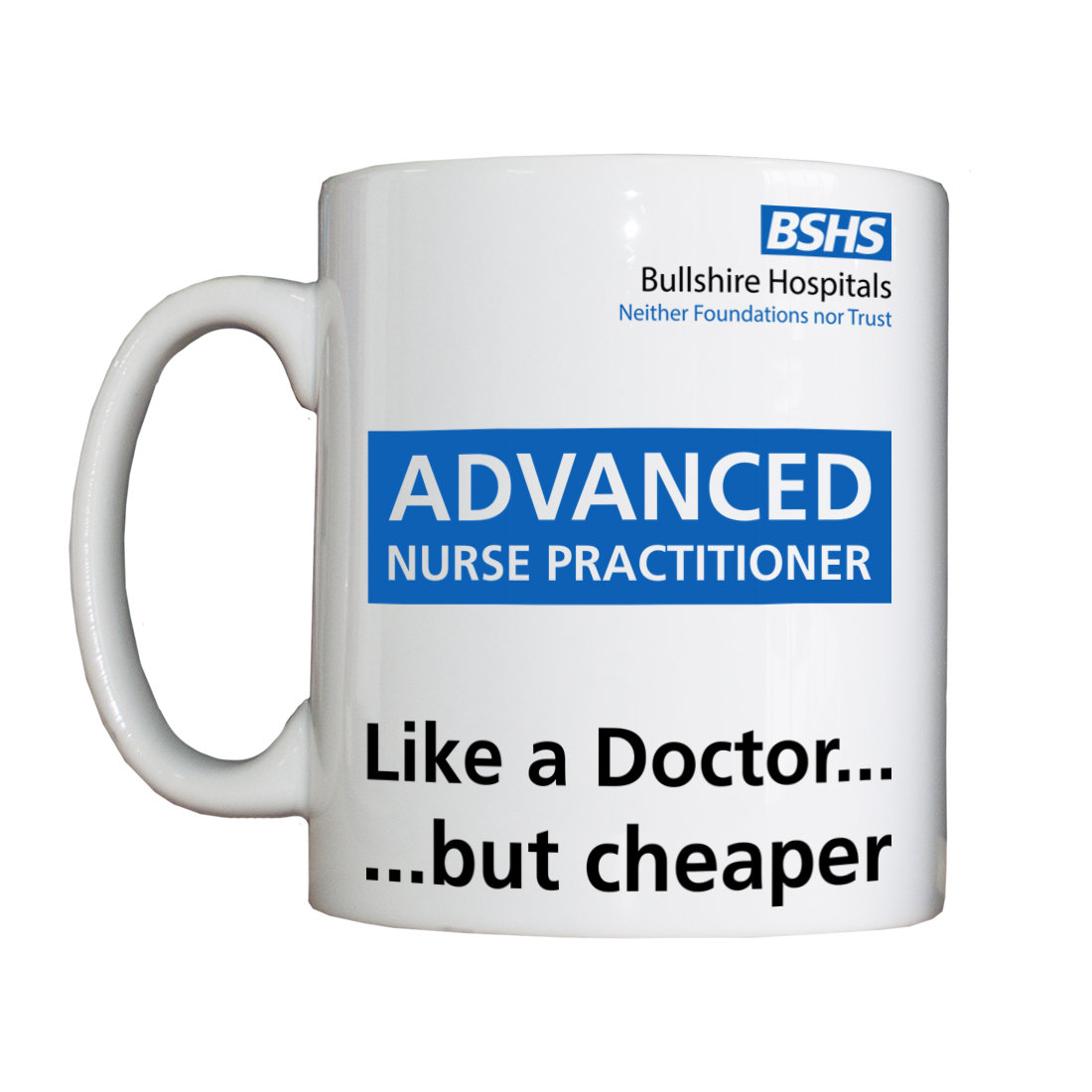 Personalised 'Advanced Nurse Practitioner' Drinking Vessel BSHSANPVessel