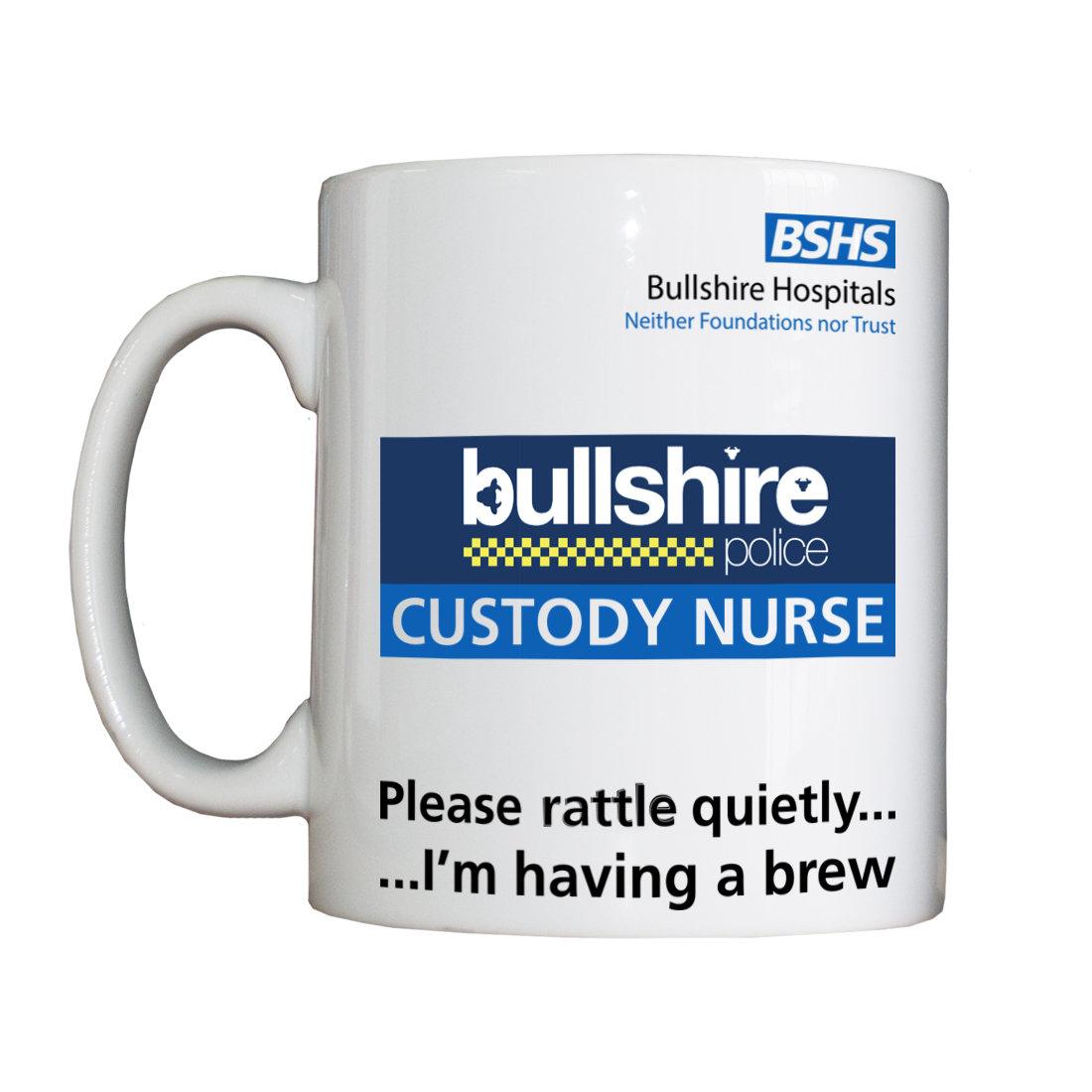 Personalised 'Custody Nurse' Drinking Vessel CustodyNurseVessel