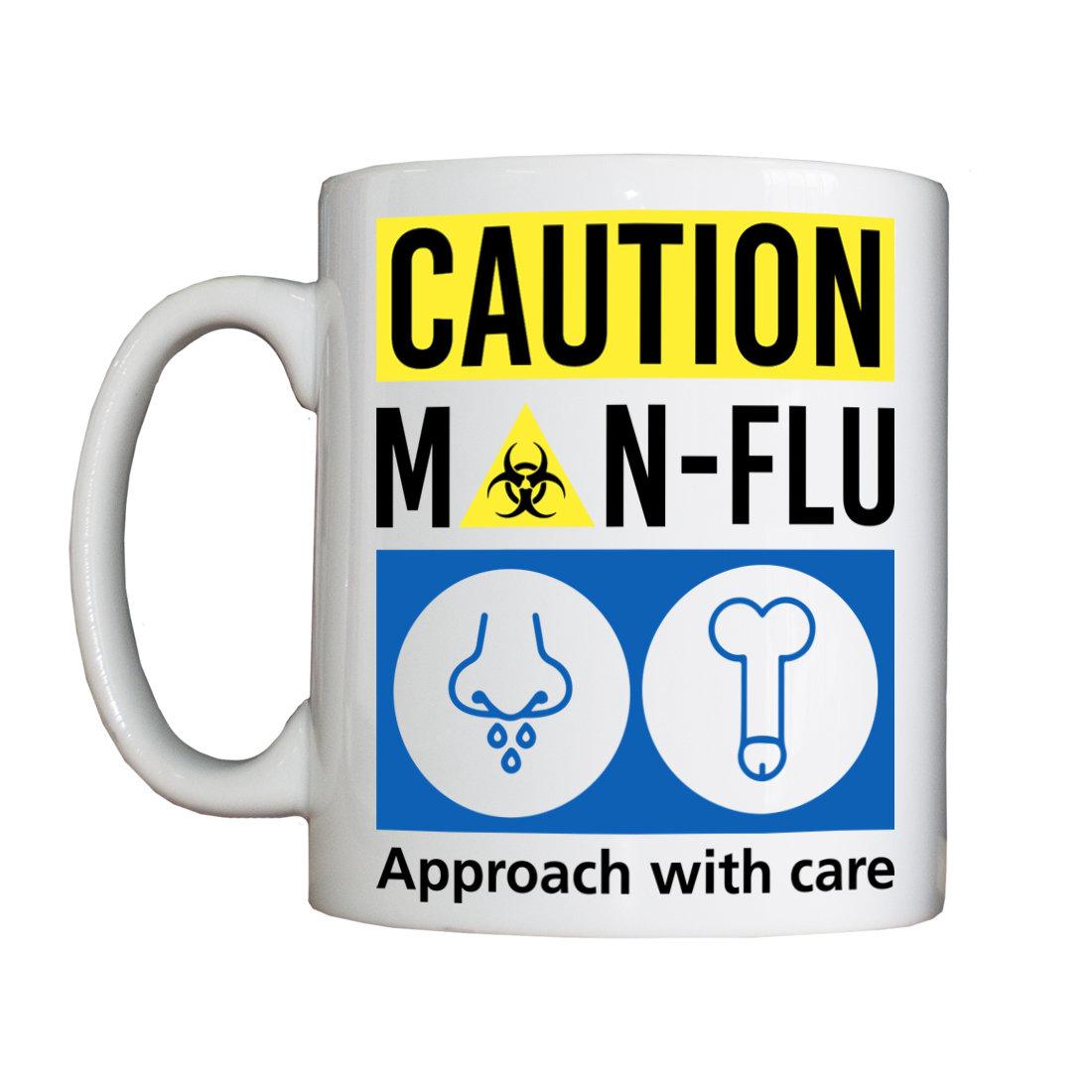 Personalised 'Man-Flu' Drinking Vessel ManFluVessel