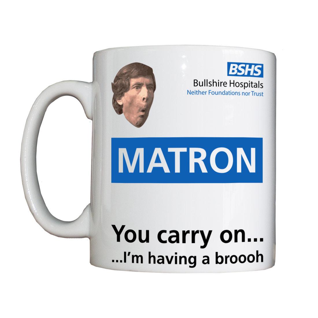 Personalised 'Matron' Drinking Vessel BSHSMatronVessel