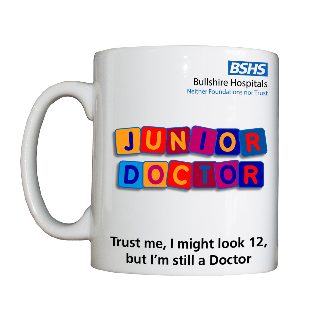 Personalised 'Junior Doctor' Drinking Vessel BSHSJuniorDoctorVessel