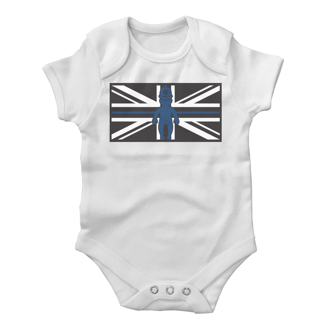 Thin Blue Line Police Baby Grow