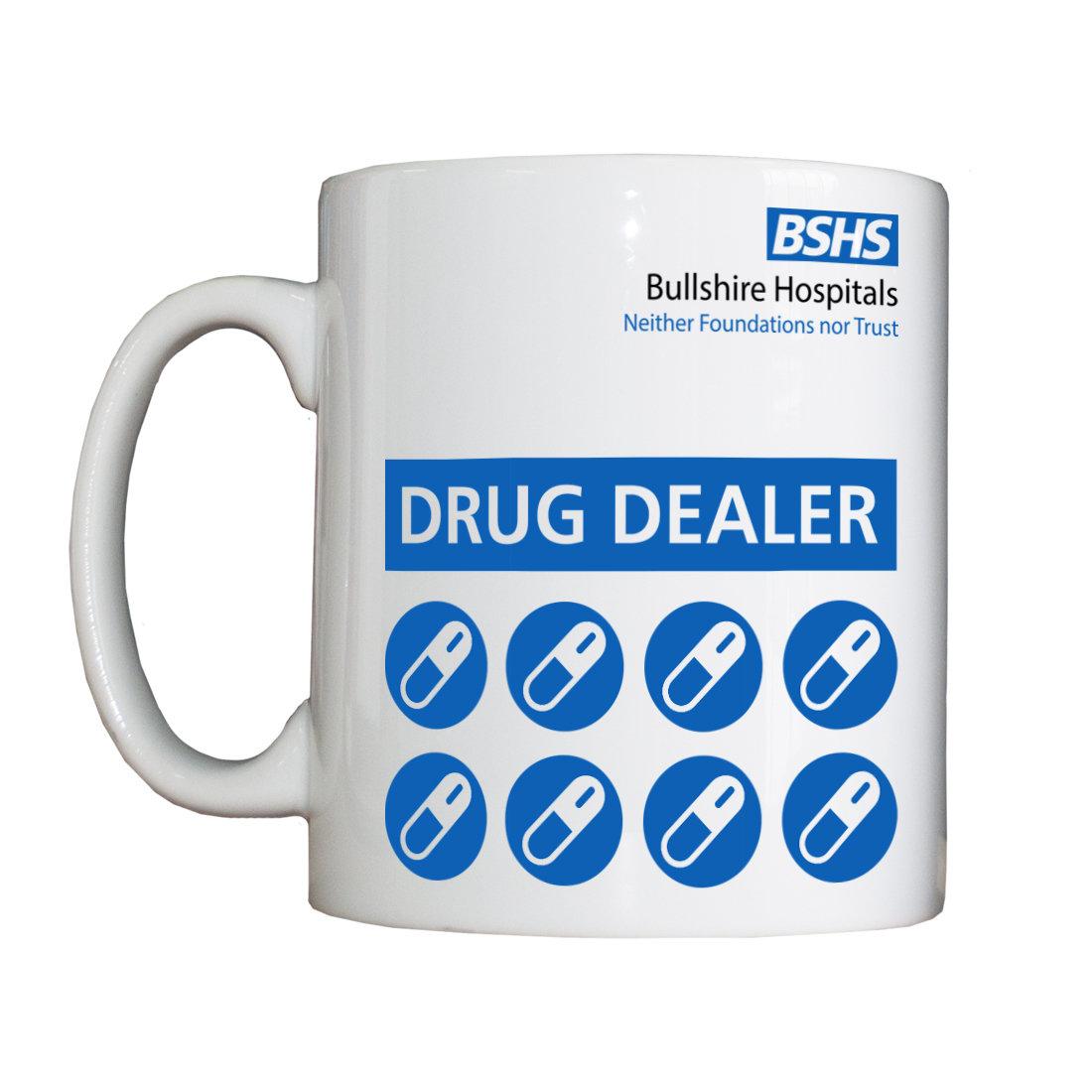 Personalised 'Drug Dealer' Drinking Vessel BSHSDrugDealerPharmacistVessel
