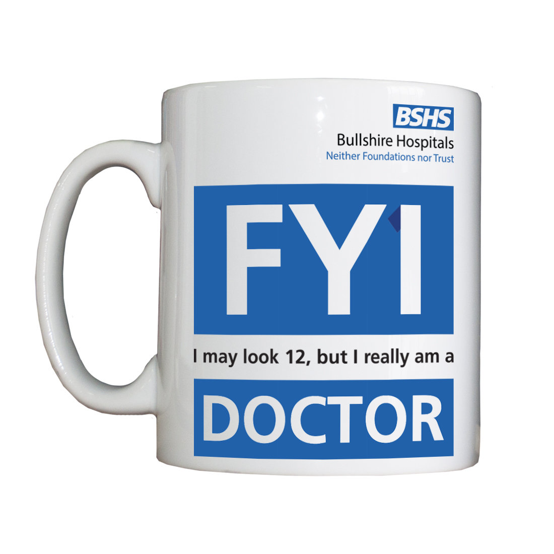 Personalised 'FY1 Doctor' Drinking Vessel FY1DoctorVessel
