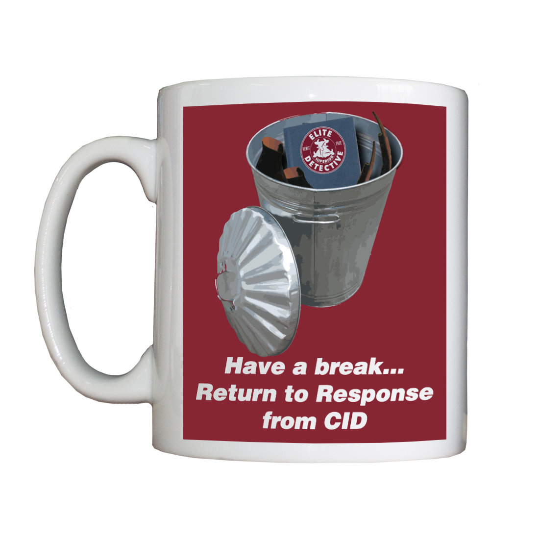 Personalised 'Return to Response from CID' Drinking Vessel ReturntoResponseFromCIDVessel