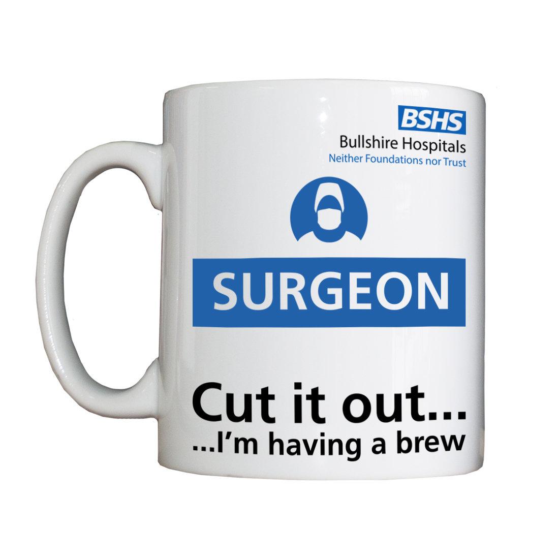 Personalised 'Surgeon' Drinking Vessel BSHSSurgeonVessel