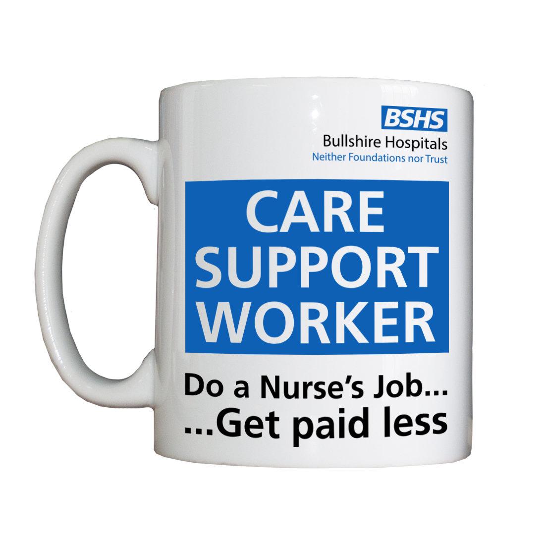 Personalised 'Care Support Worker' Drinking Vessel BSHSCareSupportWorkerVessel